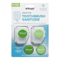 DrTung's Snap-On Toothbrush Sanitizer