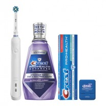 Oral-B Pro 1000 Electric Toothbrush Daily Clean Kit