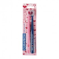 Curaprox CS-5460 Ultra Soft Toothbrush Love Edition Doublepack