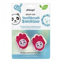 DrTung's Kids Snap-On Toothbrush Sanitizer