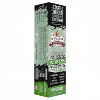 My Magic Mud Activated Charcoal Fluoride Free Whitening Toothpaste - Wintergreen